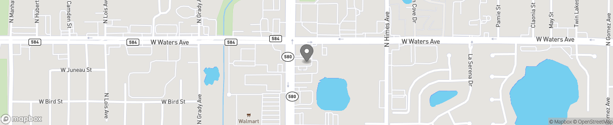 Map of 8305 N Dale Mabry Hwy in Tampa