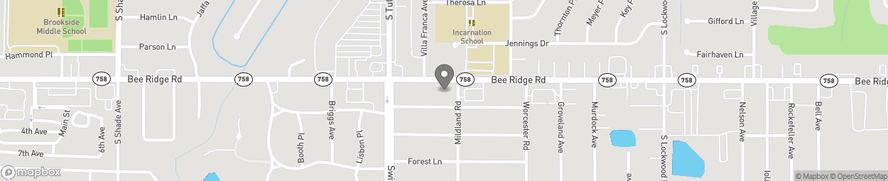 Map of 2890 Bee Ridge Rd in Sarasota