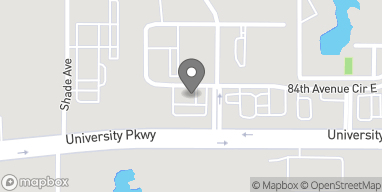 Map of 2515 University Parkway in Sarasota