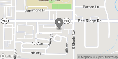 Map of 2300 Bee Ridge Road in Sarasota
