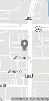 Mapa de 1812 N. Westshore Blvd en Tampa