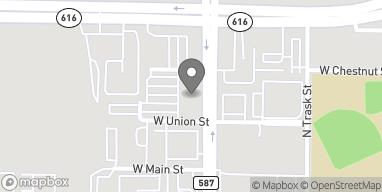 Map of 1812 N. Westshore Blvd in Tampa