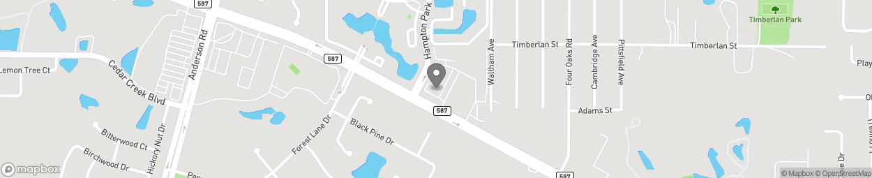 Map of 5399 Gunn Highway in Tampa