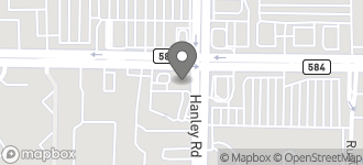Map of 7502 West Waters Ave. in Tampa
