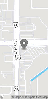 Map of 1313 Cortez Road W in Bradenton