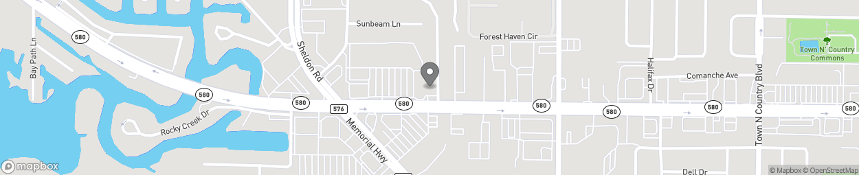 Map of 8427 W Hillsborough Ave in Tampa