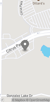 Map of 8610 Citrus Park Drive in Tampa