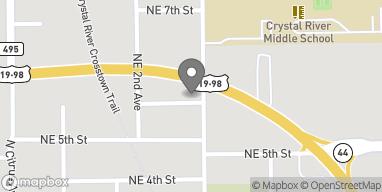 Map of 706 NE US Hwy 19 in Crystal River