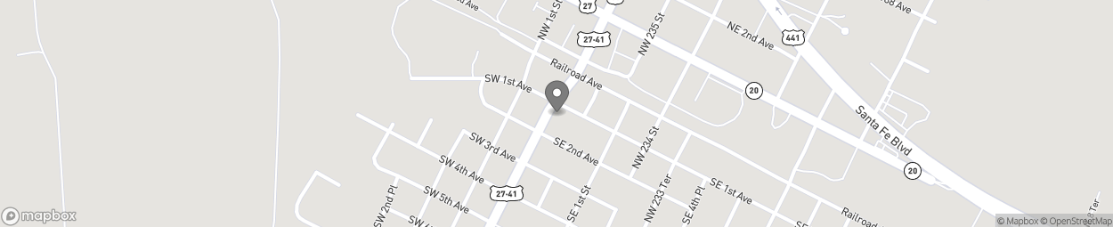Map of 5 Southeast First Avenue in High Springs