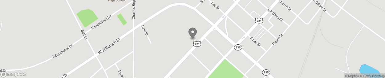 Map of 116 S Tallahassee St in Hazlehurst