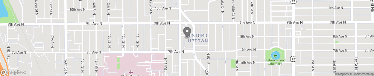 Map of 805 Dr Martin Luther King Jr St N in Saint Petersburg