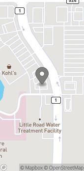 Mapa de 8261 Little Road en New Port Richey