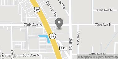 Map of 6995 US Hwy 19 N in Pinellas Park