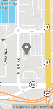 Map of 5145 34th St S in St. Petersburg