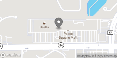 Map of 7127 State Rd 54 in New Port Richey