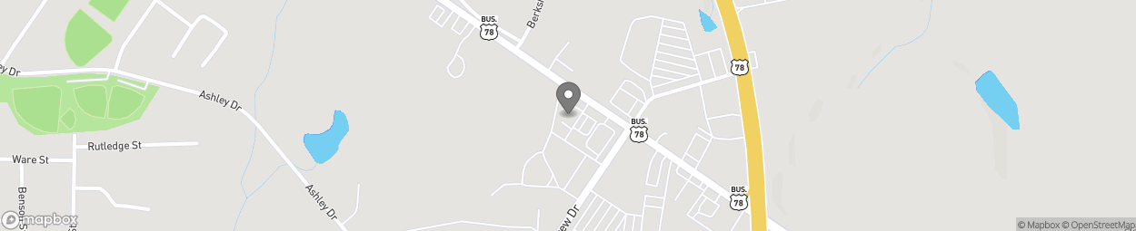 Map of 916 E Robert Toombs Ave in Washington