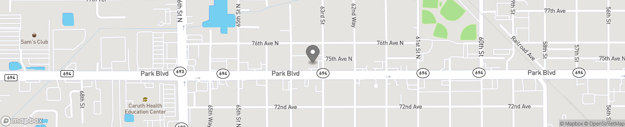 Map of 6301 Park Boulevard in Pinellas Park