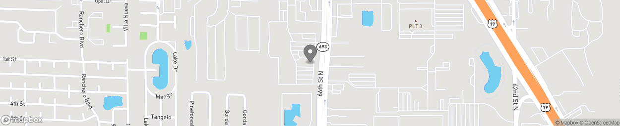 Map of 13110 66th Street in Largo