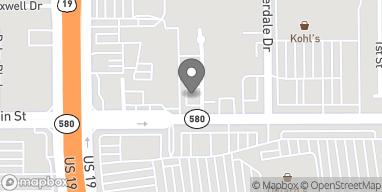 Mapa de 2460 State Road 580 en Clearwater