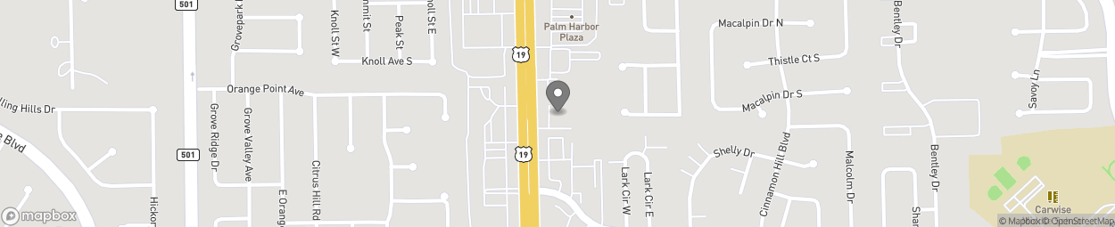 Map of 35065 US Highway 19 N in Palm Harbor