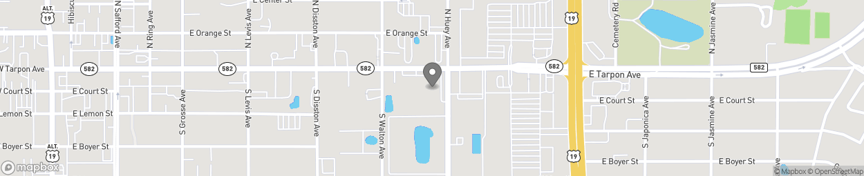 Map of 718 E Tarpon Avenue in Tarpon Springs