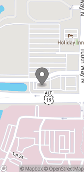 Map of 10195 Bay Pines Blvd in Saint Petersburg