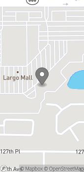 Map of 10500 Ulmerton Rd in Largo