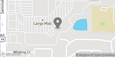 Map of 10500 Ulmerton Rd in Largo