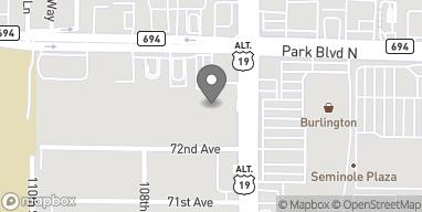 Map of 10720 Park Blvd in Seminole