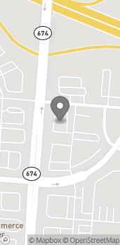 Map of 6154 Gender Rd in Canal Winchester