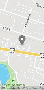 Map of 1067 Tiger Blvd in Clemson