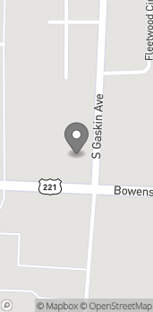 Map of 1401 Bowens Mill Road SE in Douglas