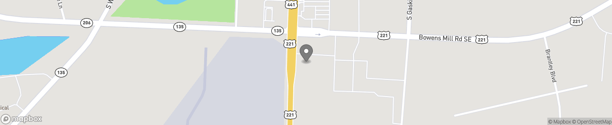 Map of 1504 Peterson Ave S in Douglas