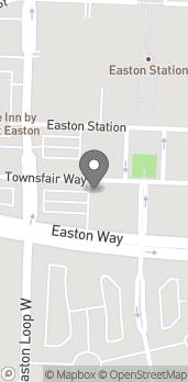 Map of 3955 Townsfair Way in Columbus