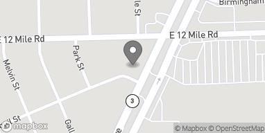 Mapa de 28835 Gratiot Ave en Roseville