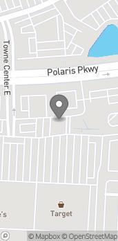 Mapa de 1495 Polaris Parkway en Columbus