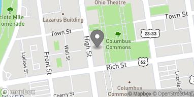 Mapa de 210 S High St en Columbus