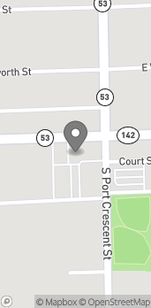 Map of 116 W Huron Ave in Bad Axe