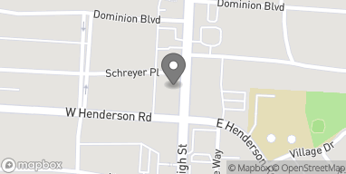Mapa de 4409 North High Street en Columbus