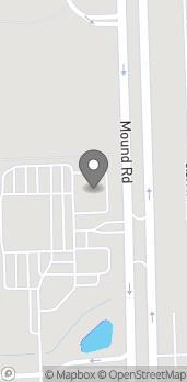 Map of 30223 Mound Road in Warren