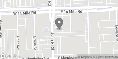 Map of 32800 John R Rd in Madison Heights