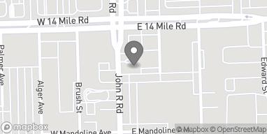 Mapa de 32800 John R Rd en Madison Heights