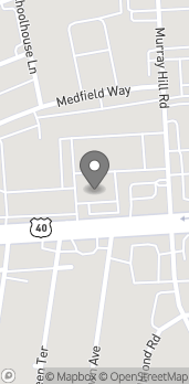 Map of 4832 W Broad St in Columbus