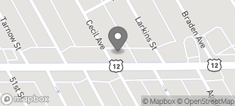 Map of 7060 Michigan Ave. in Detroit