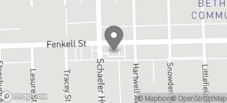 Map of 13531 Fenkell in Detroit