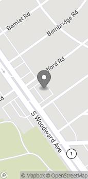 Map of 30254 Woodward Ave in Royal Oak