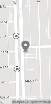 Map of 2901 Fort St in Wyandotte