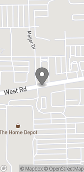 Map of 20320 West Rd in Woodhaven