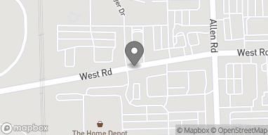 Mapa de 20320 West Rd en Woodhaven
