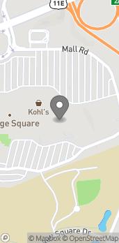 Map of 2550 E Morris Blvd in Morristown